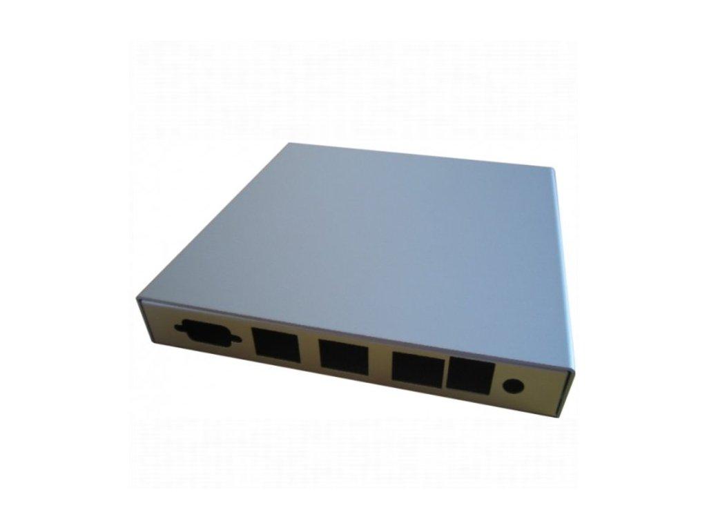 Montážna krabica pro ALIX.2,APU.1D, USB, 3x LAN