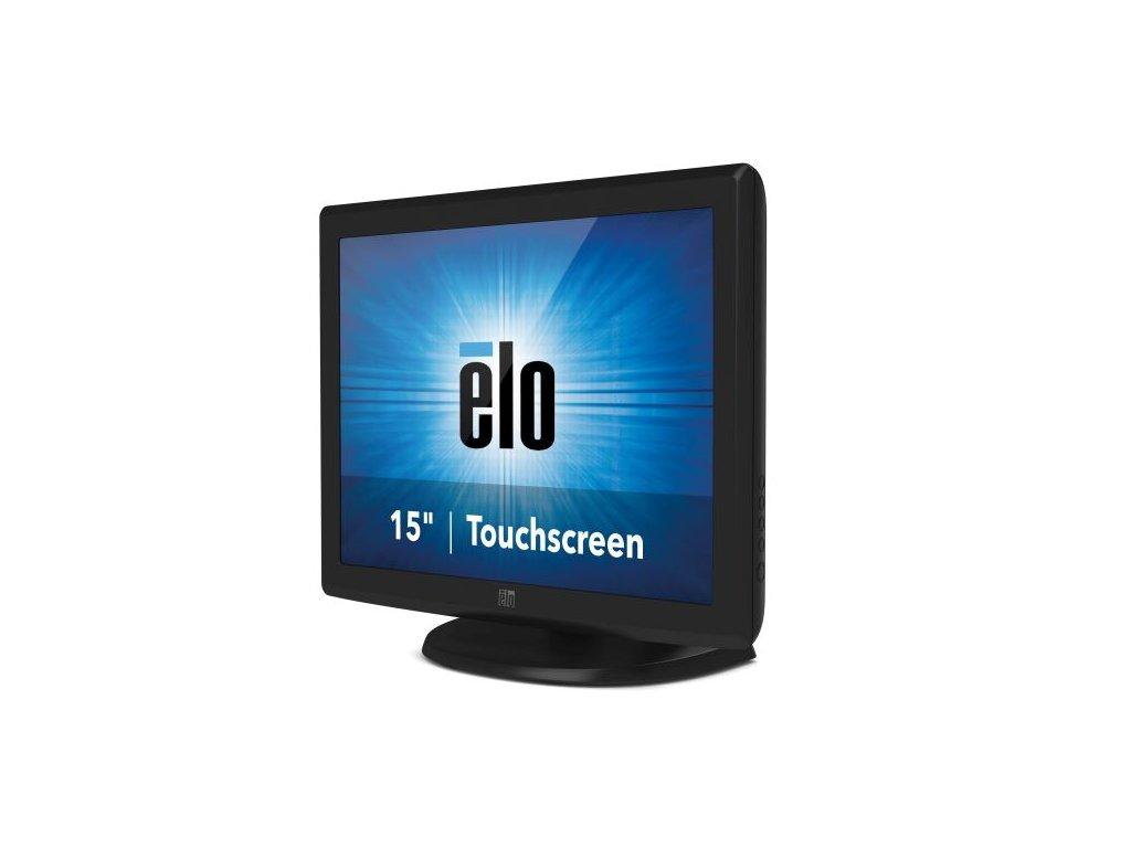 "Dotykový monitor ELO 1515L, 15"" LED LCD, IntelliTouch (SingleTouch), USB/RS232, VGA, matný, šedý"