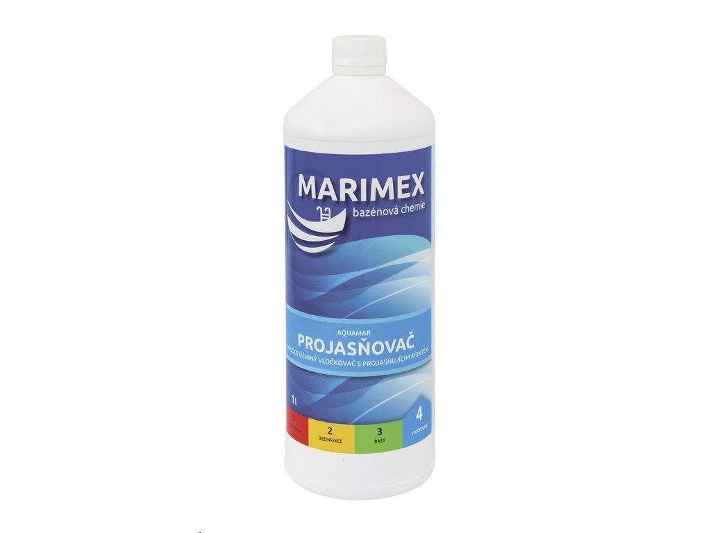 Bazénová chémia Marimex AquaMar Prejasňovač 1 l (tekutý prípravok)
