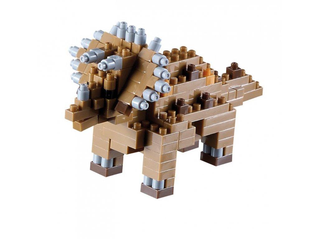 Stavebnica Brixies Triceratops