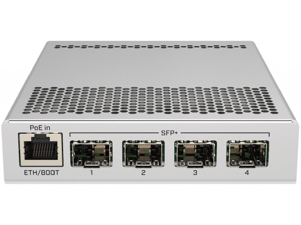 Switch Mikrotik CRS305-1G-4S+IN Dual Boot (SwitchOS, RouterOS) L5, 4x SFP+