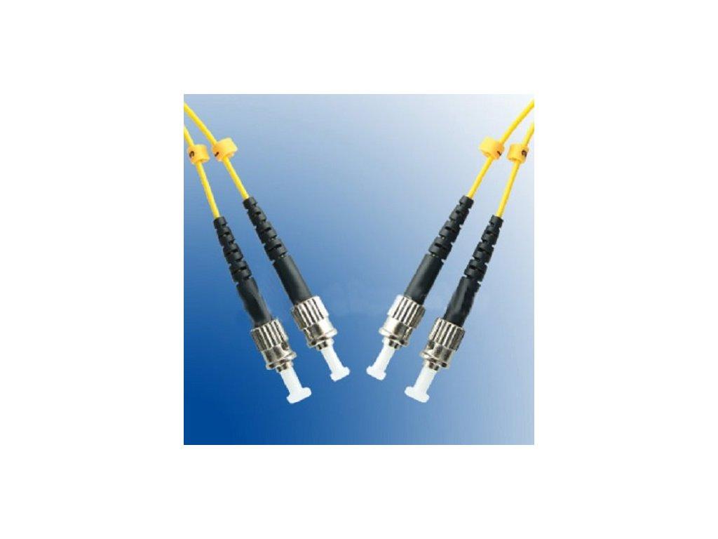 Patch kábel optický duplex ST-ST 09/125 5m SM
