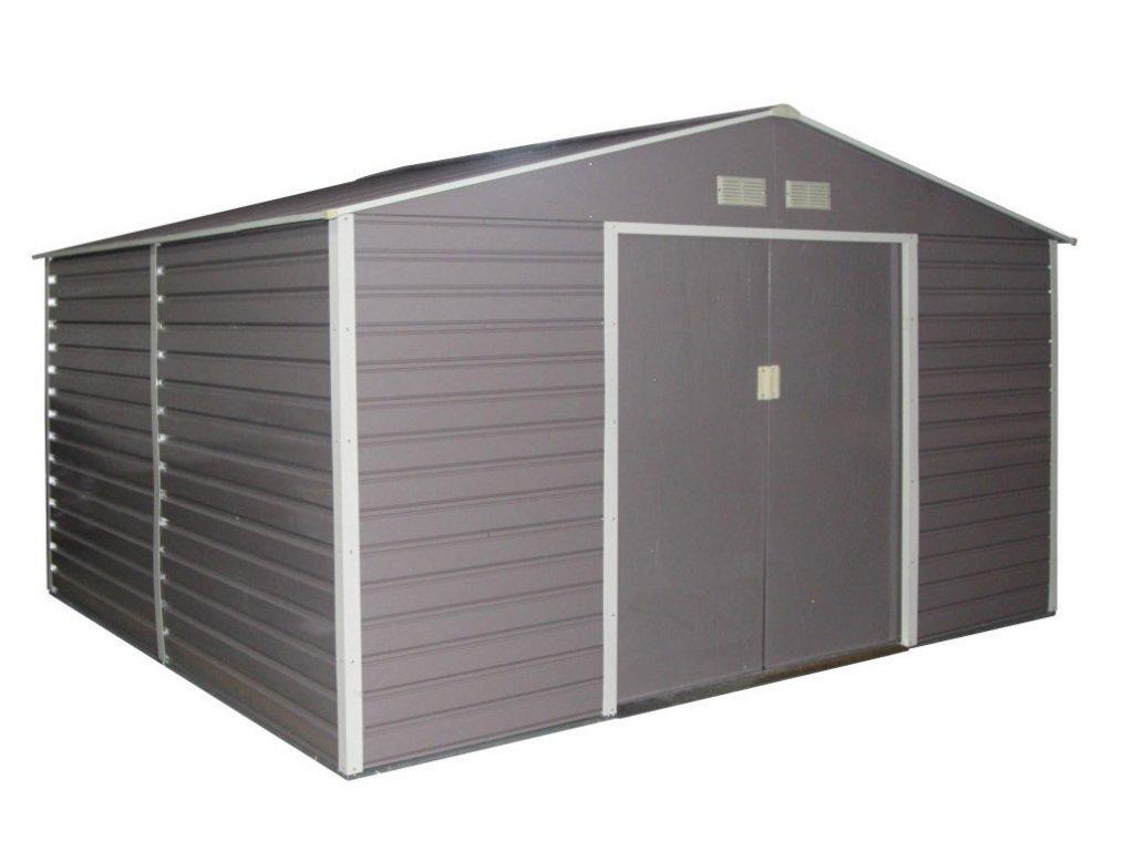 Záhradný domček G21 GAH 1085 - 340 x 319 cm, šedý