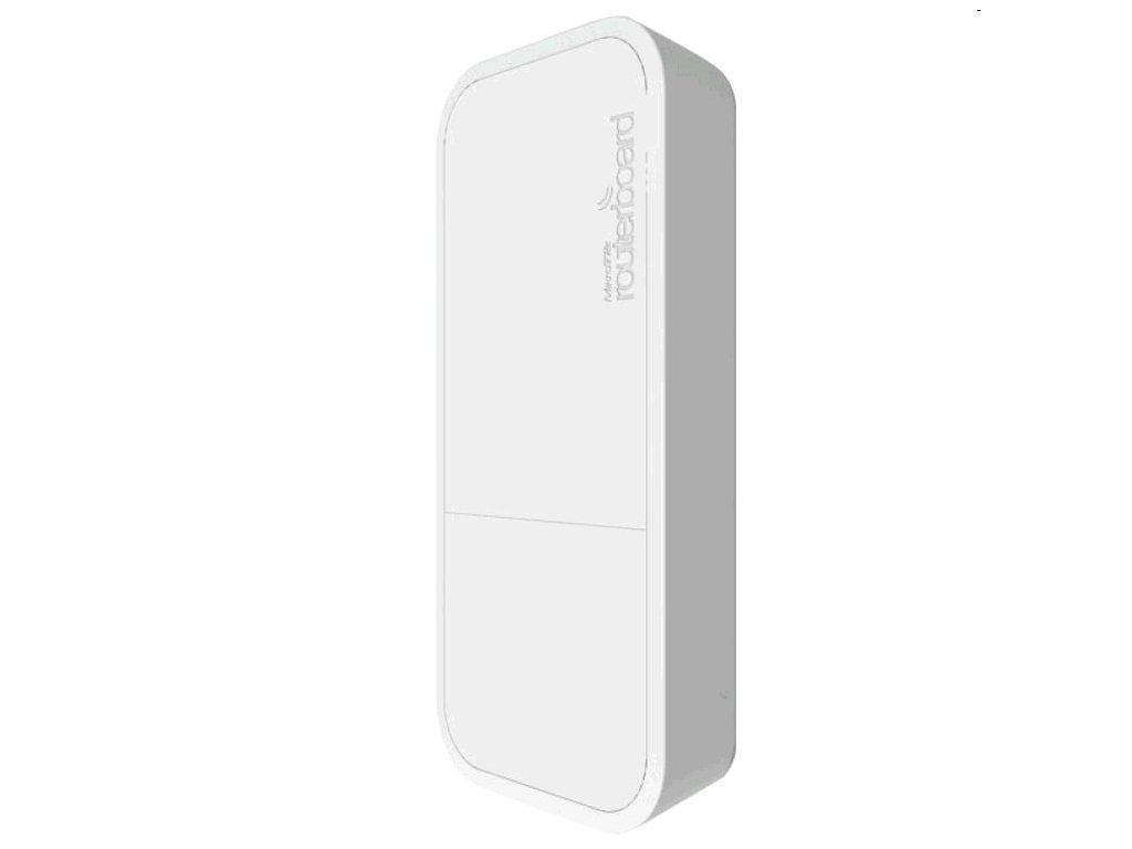 Vonkajšia jednotka Mikrotik RouterBOARD RBwAP2nD ROS L4, 1xLAN, 2.4Ghz 802.11b/g/n, bílá plast. krabice, napájecí adapté