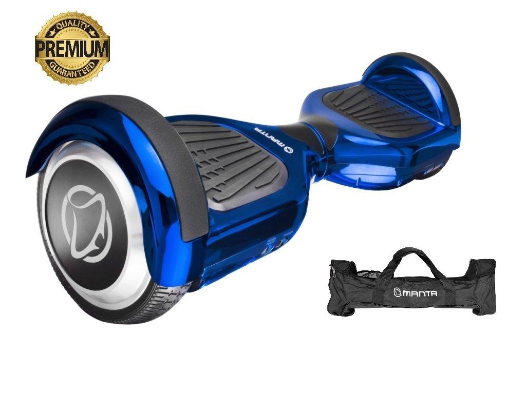 13871 manta hoverboard scooter 6 5 2x350w viper ii modra msb9014
