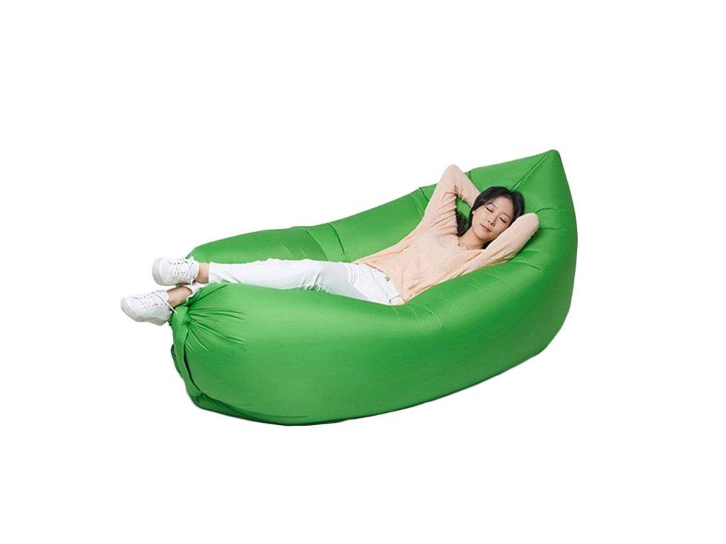 Vzdušný sedací vak Zelený