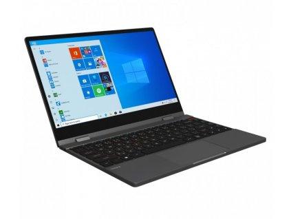 "Notebook Umax VisionBook 13Wg Flex 13.3"" FHD 2in1, N4100, 4GB, 64GB + slot m.2 ssd 2242/2280, W10 Pro, šedý"