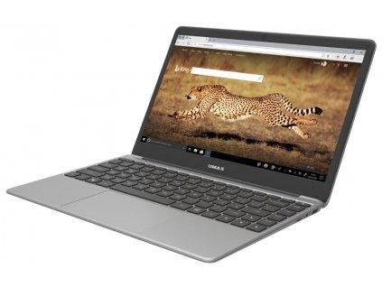 """Notebook Umax VisionBook 14We Plus 14,1"""" FHD, E8000, 4GB, 64GB + volný slot m.2 SSD, W10, šedý"""