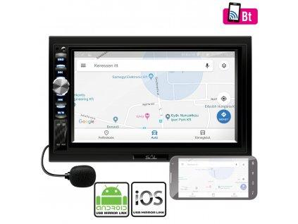 "Autorádio 7"" SAL VB X900 Bluetooth Android-iOS"