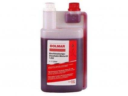 Olej Dolmar 2T, 1l, dávkovacia fľaša