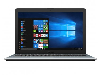 "Notebook Asus X540MA 15,6"", N5000, 256SSD, 4GB, W10 strieborný"