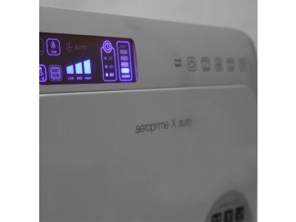 Čistička vzduchu OPUS Aeroprime X auto, do 35 m2, HEPA filter, ionizátor, PCO