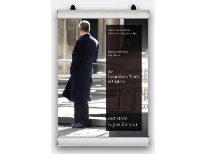 Plagátová lišta Poster Snap - 594 mm