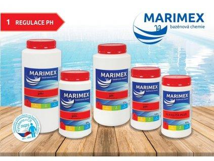 Bazénová chémia Marimex pH- 1,35 kg