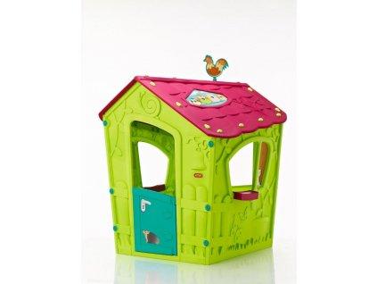 Záhradný domček Keter Magic Play House zelený, poškozený obal