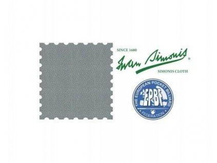 Plátno Simonis 760 grey 195 cm