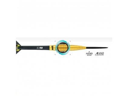 Šípky ONE80 steel Ron Meulenkamp 23g, 95% wolfram
