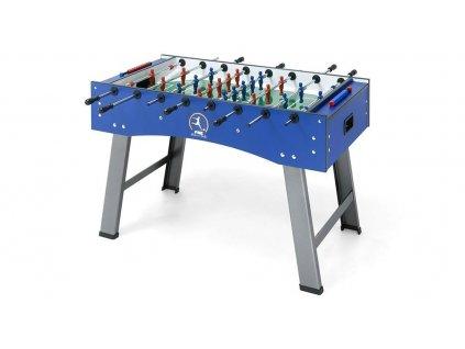 Stolný futbal FAS Smile 5ft, modrý, priechozie tyče, nepretáčavý brankár