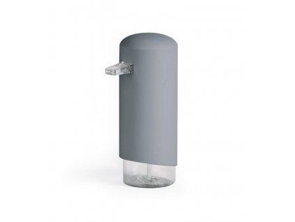 Dávkovač Compactor Clever mydlovej peny, ABS + odolný PETG plast – šedý, 360 ml, RAN9648