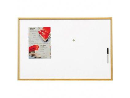 Economic Board magnetická 60 x 40 cm v dřevěném rámu