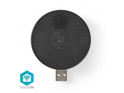 Príslušenstvo Nedis WIFICDPC10BK pre WiFi domovný zvonček WIFICDP10GY | USB