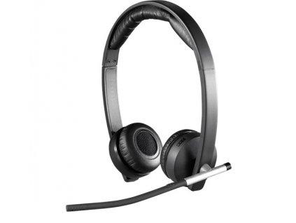 Slúchadlá Logitech Wireless Headset Dual H820e 981-000517