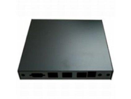 Montážna krabica PC Engines pro ALIX.2, APU.1D, USB, 3x LAN, black
