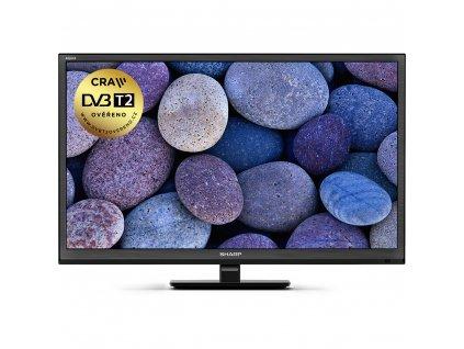 Televízor Sharp LC 24CHF4012 100Hz DVB-T2 H265 (60cm)  HD ready