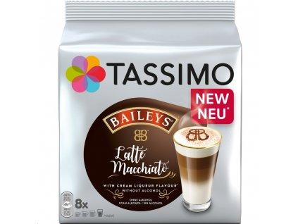 Kávové kapsle TASSIMO Latte Macchiato Baileys 264 g, 8 ks