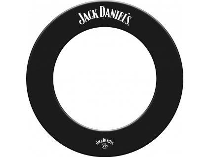 Ochrana k terčom JACK DANIELS s logom JD, čierna