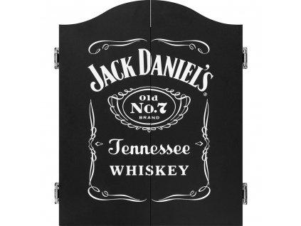 Šípkový kabinet Mission JACK DANIELS, čierny