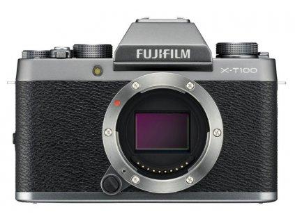 Digitálny fotoaparát Fujifilm X-T100 body dark silver