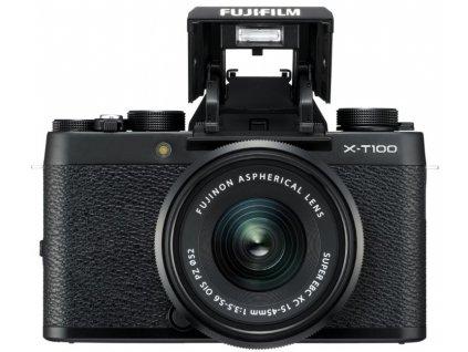 Digitálny fotoaparát Fujifilm X-T100 + XC15-45mm F3,5-5,6 OIS PZ black