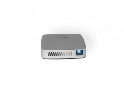 Vreckový projektor Philips PicoPix PPX5110 WIFI, 854x480, LED, 100lumenů, 1000: 1, repro, batérie