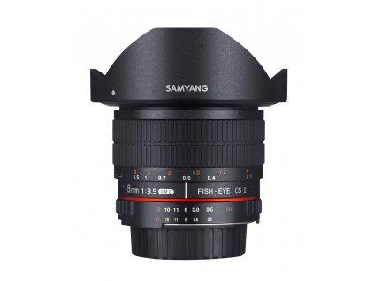 Objektív Samyang  8mm F3.5 CSII Canon  DEMO