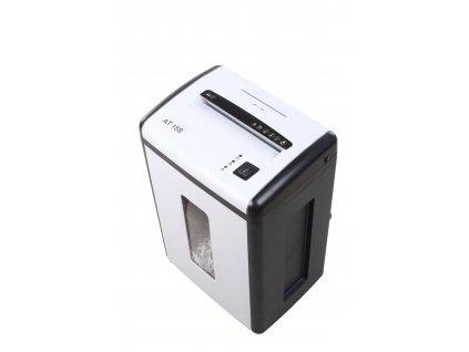 Skartovač AT-15S DIN 2, proužek 4mm, 12 listů, 22l, CD+DVD, Credit Card, NBÚ