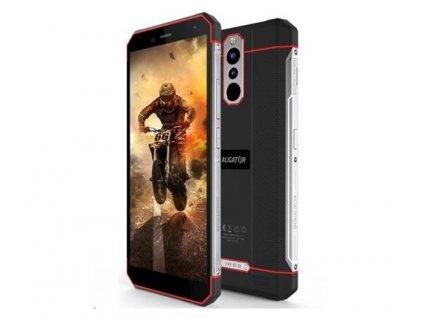 Mobilný telefón Aligator Aligator RX700 eXtremo (3 GB/32 GB) Dual SIM, černo-červená