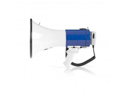 Megafón Nedis MEPH200WT 25 W, vstavaná siréna a odpojiteľný mikrofón