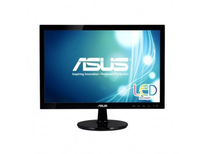 "Monitor Asus VS197DE 18,5"" LED 1336x768, 5ms, 50mil:1, VGA, černý"