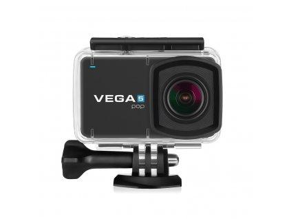 """Kamera Niceboy VEGA 5 pop 4K@24fps,16 Mpx, dotykový LCD 2,45"""", české menu, Wi-Fi, dálkové ovládání"""