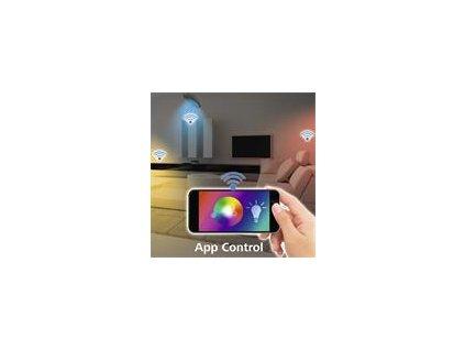 Svetlo Hama WiFi stropné trblietavý efekt, okrúhle, 30 cm