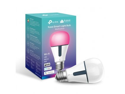 Múdra žiarovka TP-Link KL130 E27, 10W, 230V, cez IP, stmievateľná, RGB, 2500K-9000K