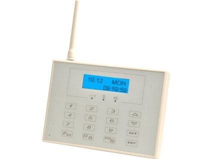 Alarm MATRIX PATRON WS BM - Bezdrátová klávesnice bílá