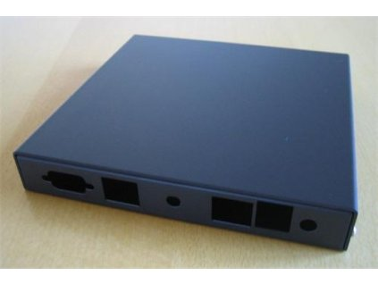 Montážna krabica PC Engines pro ALIX.2D2 a 6E2 (2x LAN, 1x USB, 1x rev. sma