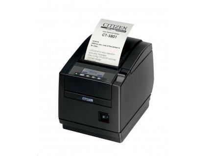 Tlačiareň Citizen CT-S801 Bez rozhraní, zdroj, černá