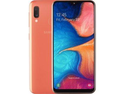 """Mobilný telefón Samsung Galaxy A20e SM-A202 5,8"""", 3GB, 32GB, Andr., oranžová"""