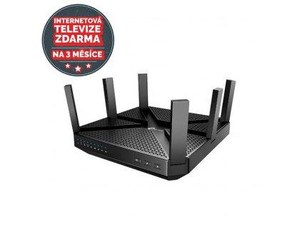 WiFi router TP-Link Archer C4000 AC4000 dual AP, 4x GLAN, 2x USB/ 750Mbps 2,4/ 3250Mbps 5GHz