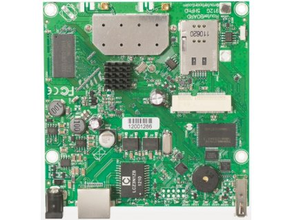 RouterBoard Mikrotik RB912UAG-2HPnD 802.11b/g/n, RouterOS L4, miniPCIe