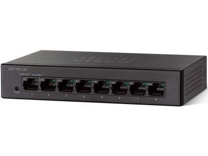 Switch Cisco SG110D-08 8x GLan, desktop