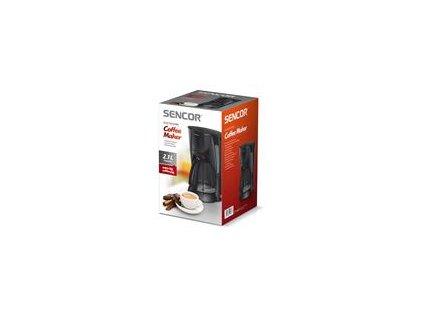 Kávovar Sencor SCE 5000BK Objem 2,1 l, 900 W, černý plast